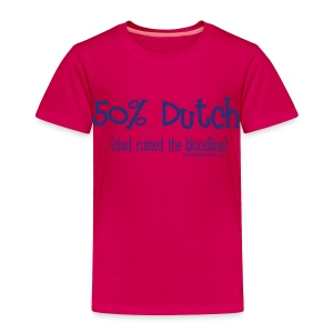 Bloodline - Dad (with blue lettering for lighter shirts) - Toddler Premium T-Shirt