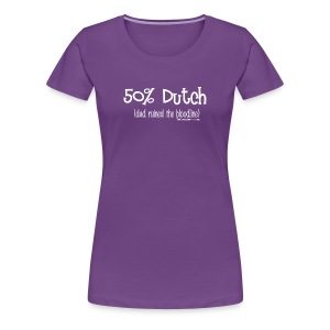Bloodline - Dad (with white lettering for darker shirts) - Women's Premium T-Shirt