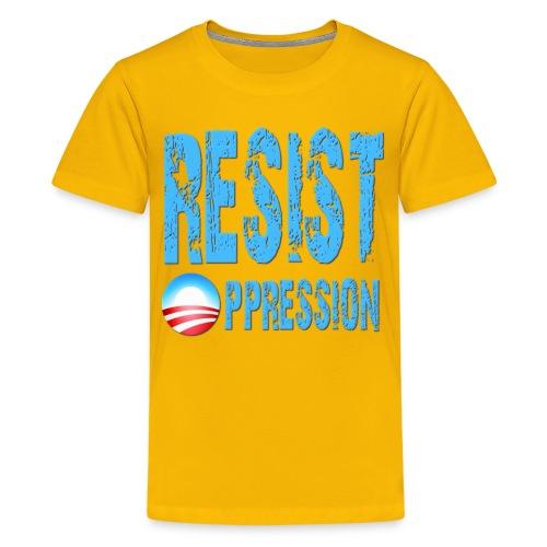 Resist Oppression Anti Obama - Kids' Premium T-Shirt