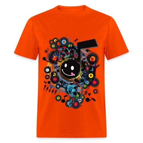 Crazy Music - Men's T-Shirt