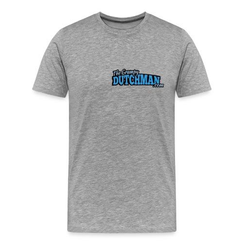 Grumpy Text Only Logo - Men's Premium T-Shirt