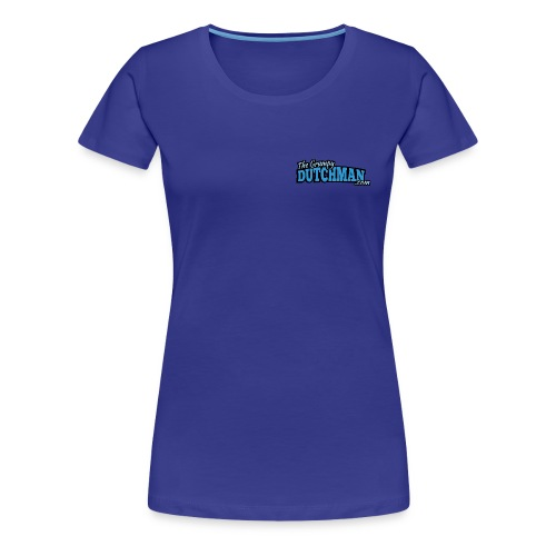 Grumpy Text Only Logo - Women's Premium T-Shirt