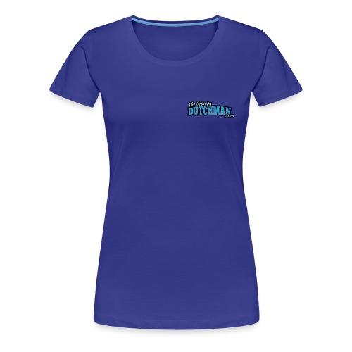 Grumpy Text Only Logo - Women's Premium T-Shirt