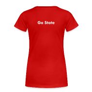 T-Shirts ~ Women's Premium T-Shirt ~ Cheering for anyone else is for quitters.