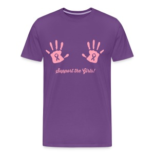 Support the Girls Hand Prints T-Shirts - Men's Premium T-Shirt