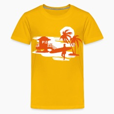 Surfers Beach Kids' Shirts
