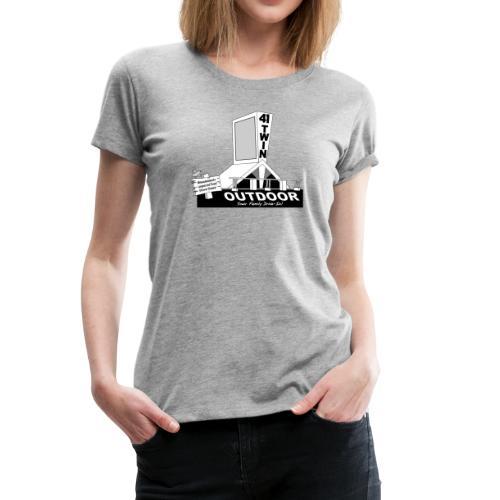 41 Twin Outdoor Drive-in Theatre - Women - Women's Premium T-Shirt