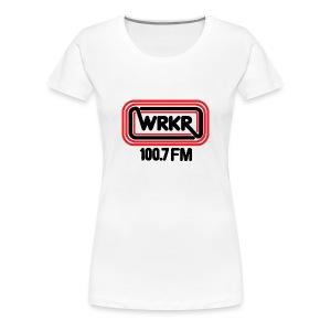 WRKR 100.7 FM Racine, WI - Women - Women's Premium T-Shirt