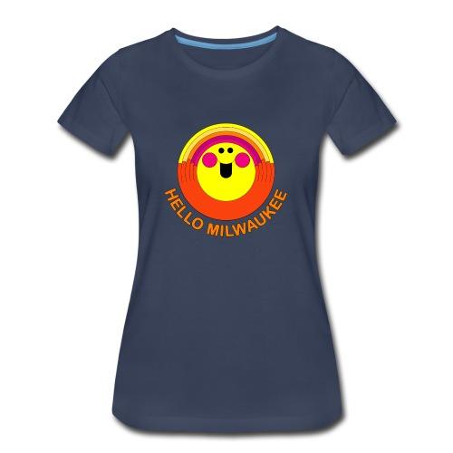 Hello Milwaukee! - Women - Women's Premium T-Shirt