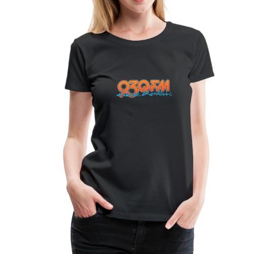 93 WQFM - Keep Rockin' - Women - Women's Premium T-Shirt