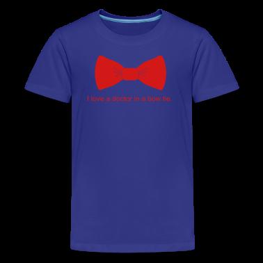 i_love_bow_tie_dr Kids' Shirts