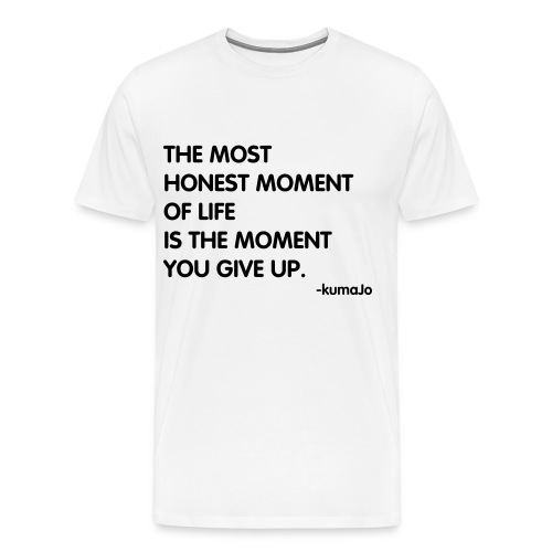 Honest Moments - Men's Premium T-Shirt