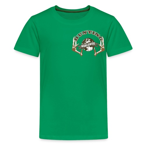 Hunting Worldwide Kid's T-Shirt - Kids' Premium T-Shirt