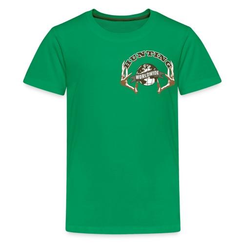 Hunting Worldwide Kid's T-Shirt - Kids' Premium T-Shirt