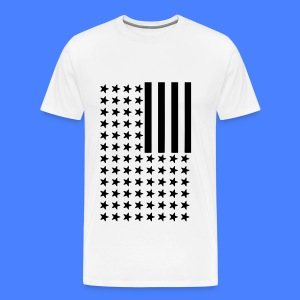 Inverted Flag T-Shirts - Men's Premium T-Shirt