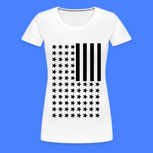 Inverted Flag Women's T-Shirts - Women's Premium T-Shirt
