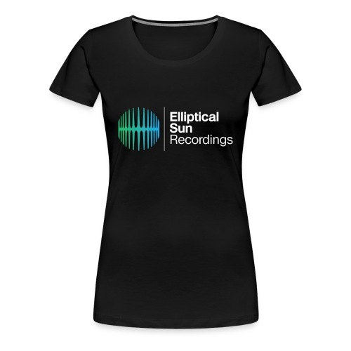 ESR Ladies Black Tee - Women's Premium T-Shirt