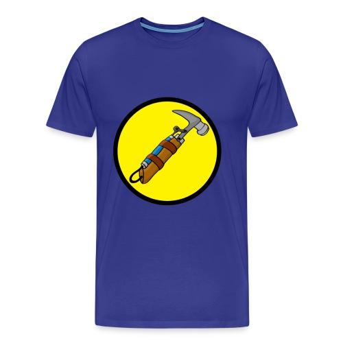 Captain Auto Homer Logo - Men's Premium T-Shirt