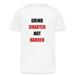 GrindSmart Heavyweight Tee - Men's Premium T-Shirt