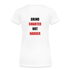 GrindSmart Heavyweight Tee - Women's Premium T-Shirt