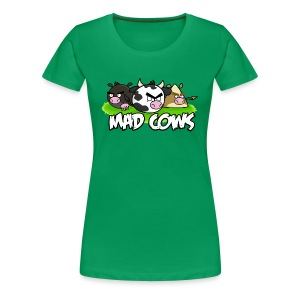 Mad Cows Women's Tee - Women's Premium T-Shirt