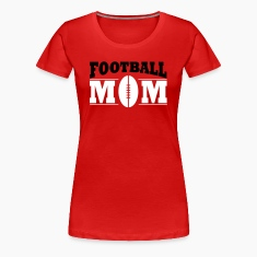Football Mom Women's T-Shirts