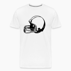 Football Helmet T-Shirts