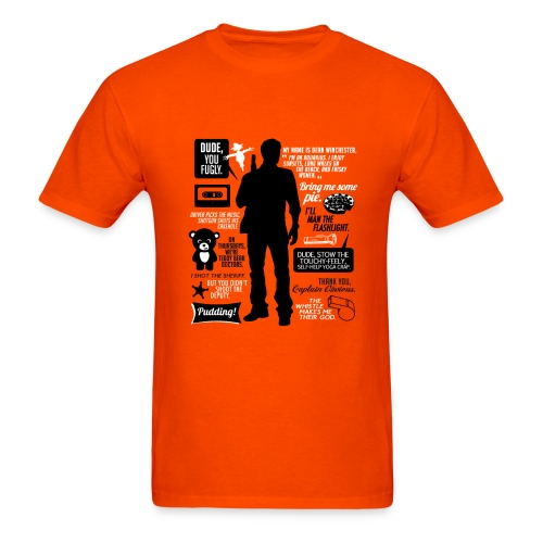 Dean quotes (DESIGN BY AVIA) - Men's T-Shirt