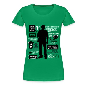 Dean quotes (DESIGN BY AVIA) - Women's Premium T-Shirt