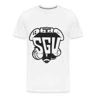 T-Shirts ~ Men's Premium T-Shirt ~ SGU Black and White Tee Premium