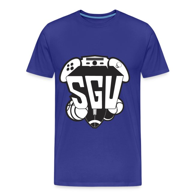 SGU Black and White Tee Premium