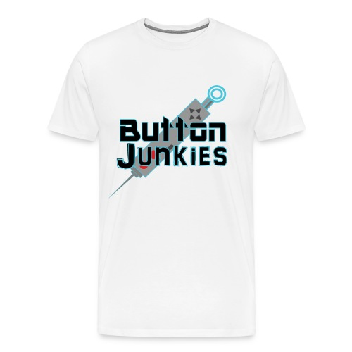 Button Junkies Logo - Men's Premium T-Shirt
