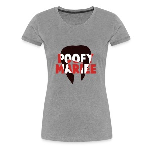 Woman's Fitted Classic T-Shirt - Poofy Mariee - Women's Premium T-Shirt
