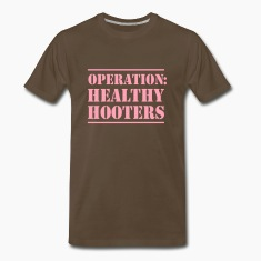 Operation Healthy Hooters T-Shirts
