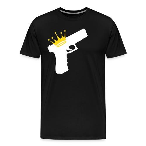 3XL/ 4XL - The King  - Men's Premium T-Shirt