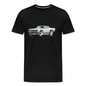 1965 Comet white car - Men's Premium T-Shirt
