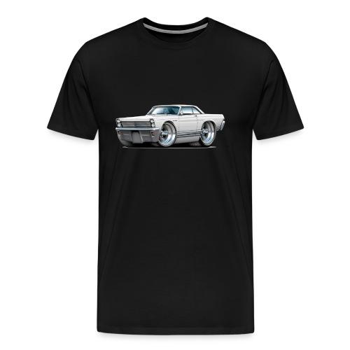 1965 Comet white car - Men's Premium T-Shirt