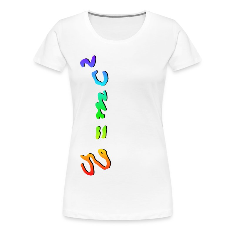 E=mc2 and the Mystery of Light (Full Spectrum) - Women's Premium T-Shirt