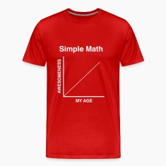 Simple Math. My Age = Awesomness T-Shirts