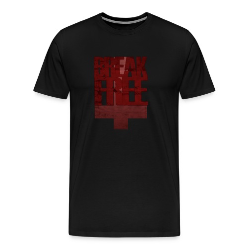 Break Free tee - black - Men's Premium T-Shirt