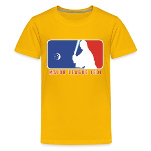 Major League Jedi - Kids' Premium T-Shirt