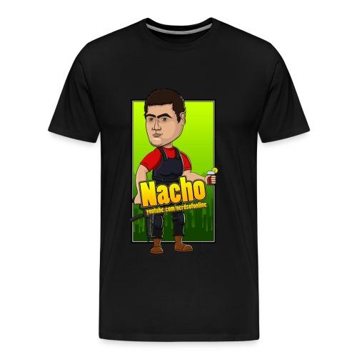 Nerds Of Online - Nacho T-Shirt - Men's Premium T-Shirt