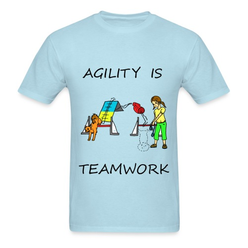 Agility Is - Teamwork - Men's T-Shirt