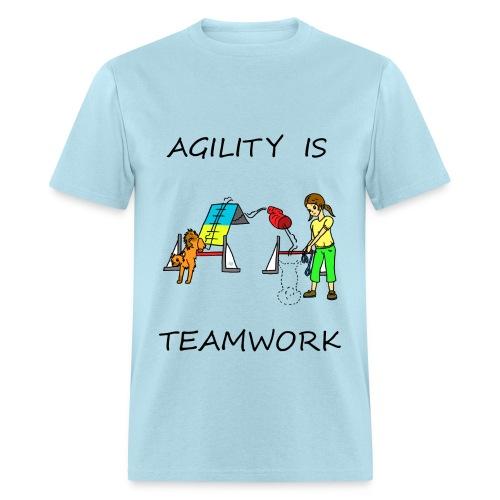 Agility Is - Teamwork - Men's T-Shirt