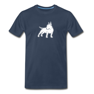 Bull Terrier cn_single_1c_4dark T-Shirts