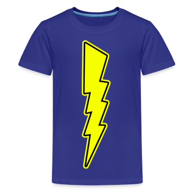 Bolt - Lightning - Shock - Electric Kids' Shirts