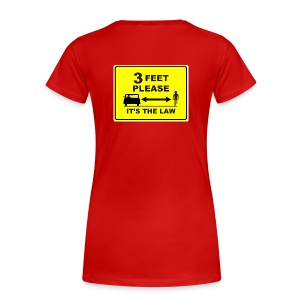 3 Feet Please T-Shirt - Women's Premium T-Shirt