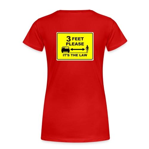 3 Feet Please T-Shirt - Women's Premium T-Shirt