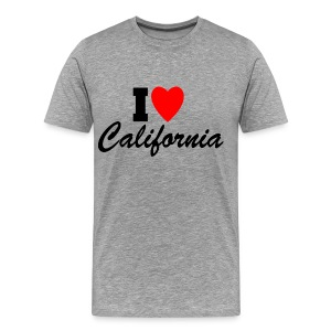 I Love California - Men's Premium T-Shirt