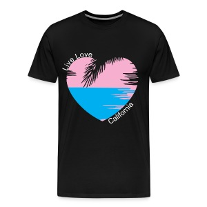Live Love California T-SHIRT - Men's Premium T-Shirt